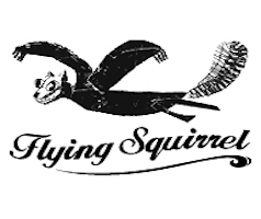 Flying Squirrel Logo, Greenpoint Brooklyn.