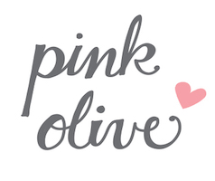 Pink Olive Logo, Greenpoint Brooklyn.