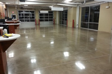 Polish crete pro for Concrete flooring service