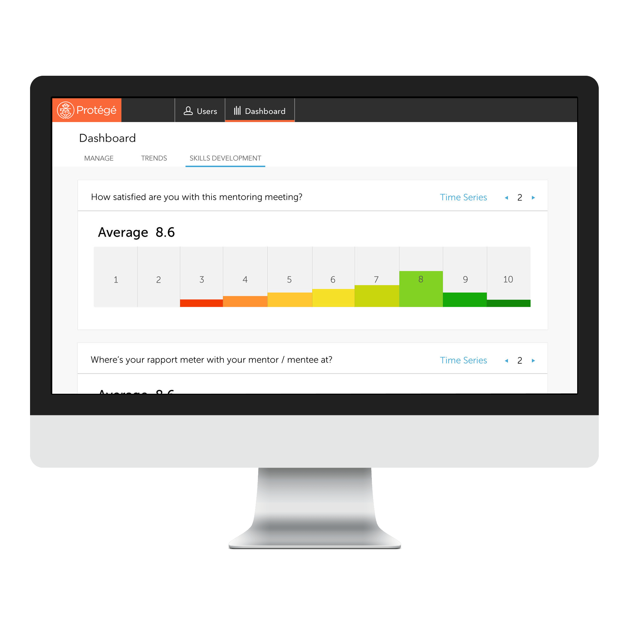 Protege helps organisations start, manage and measure their internal mentoring programmes.  The Protégé web dashboard for programme managers is simple yet powerfully designed to help enterprises start a successful mentoring programme or bring an existing mentoring programme to the next level.