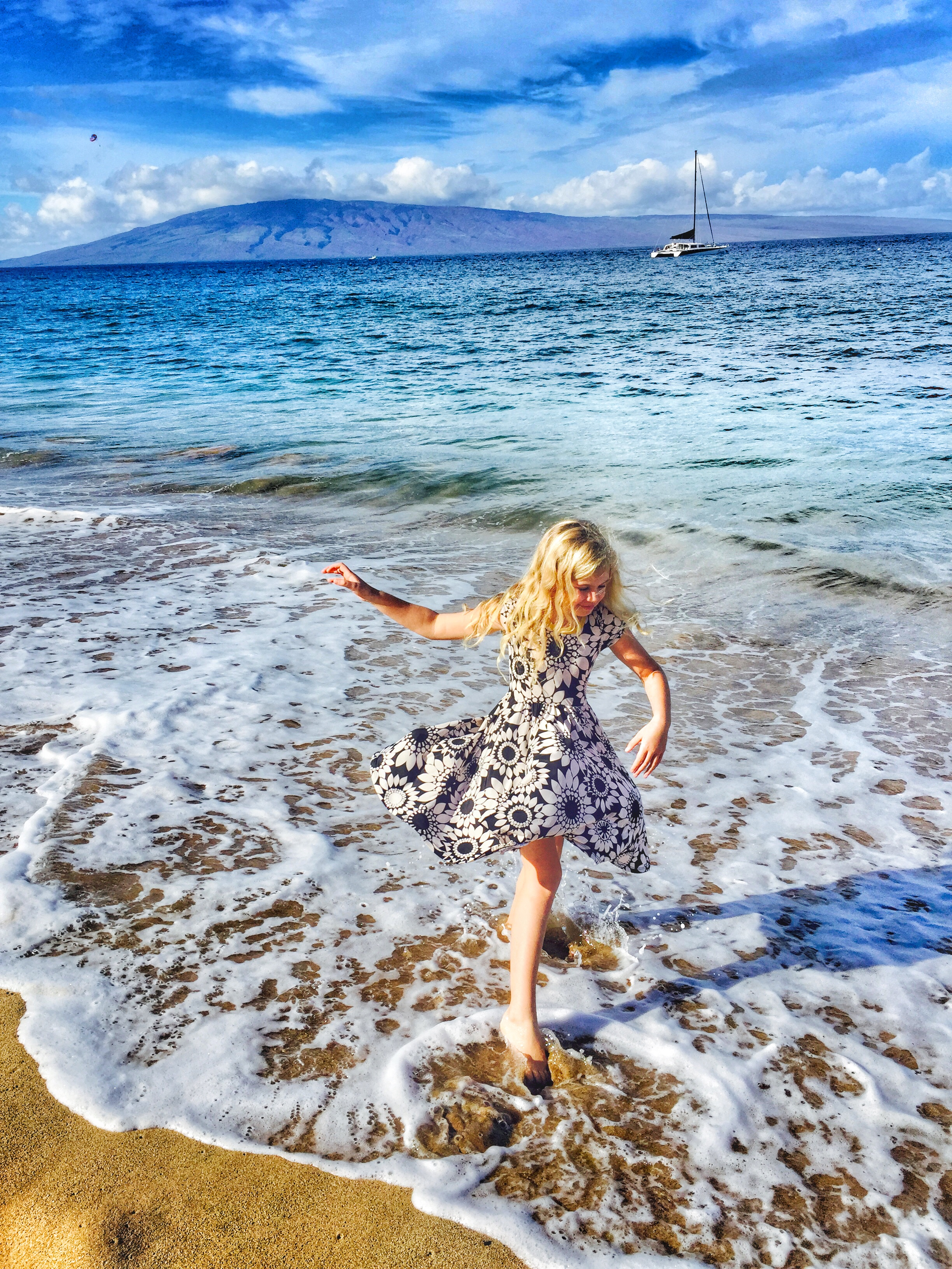 LuLaRoe Dot Dot Dress in Hawaii