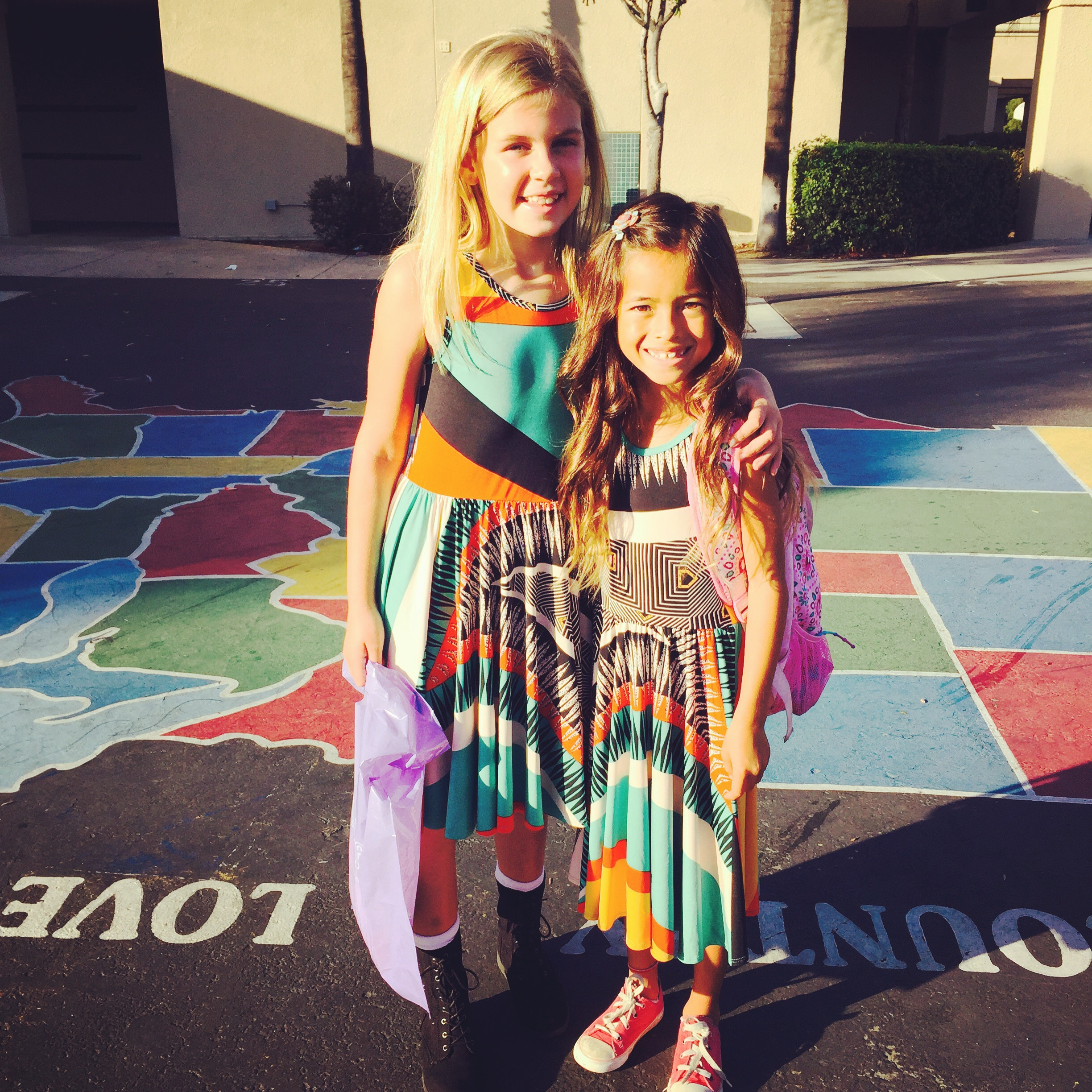LuLaRoe Dot Dot Dresses - School