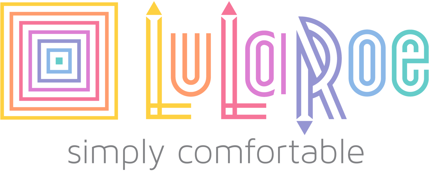 LuLaRoe Company Logo with Simply Comfortable tagline