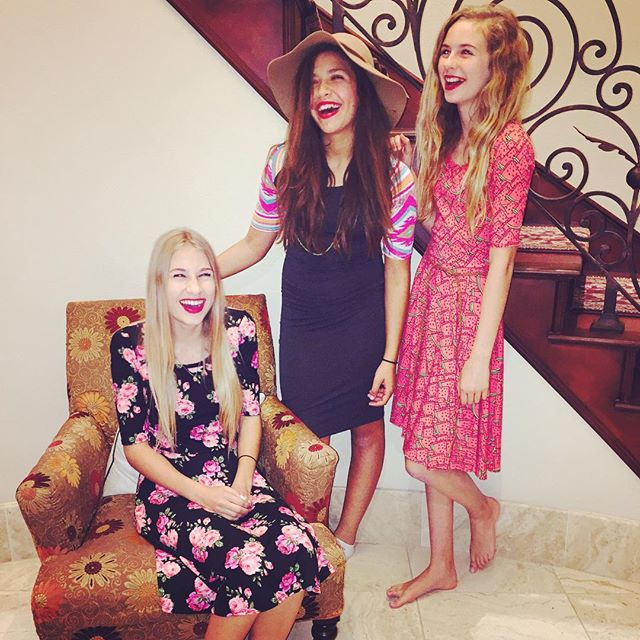LuLaRoe Tweens Dress Party