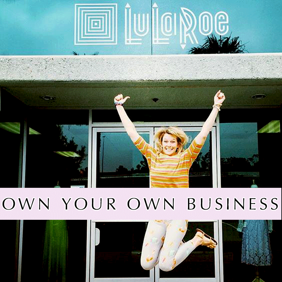 LuLaroe Misty - Starting her fashion small business - Jumping for joy!