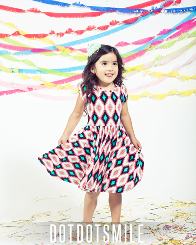 LuLaRoe Dot Dot Smile Dress