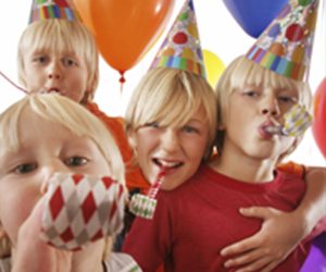 We offer fun Martial Arts theme birthday parties for kids