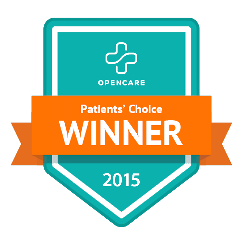 Ford Signature Dentistry was awarded the Patients Choice award by OpenCare in 2015!