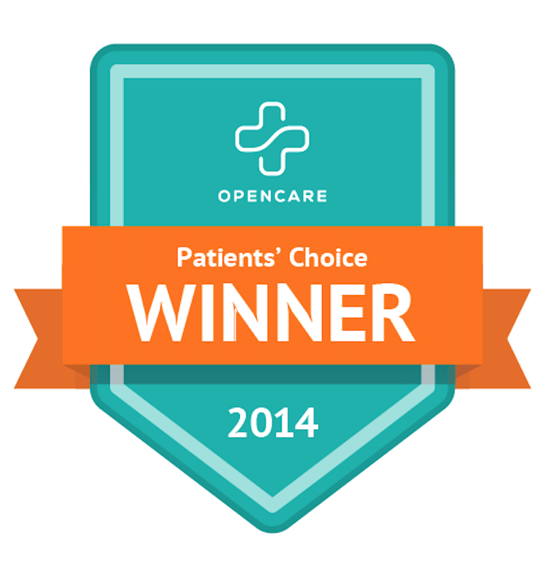 Ford Signature Dentistry was awarded the Patients Choice award by OpenCare in 2014!