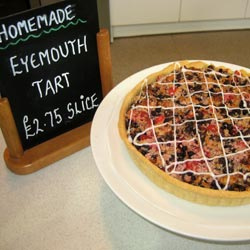 eyemouth tart homemade at sturmer nurseries