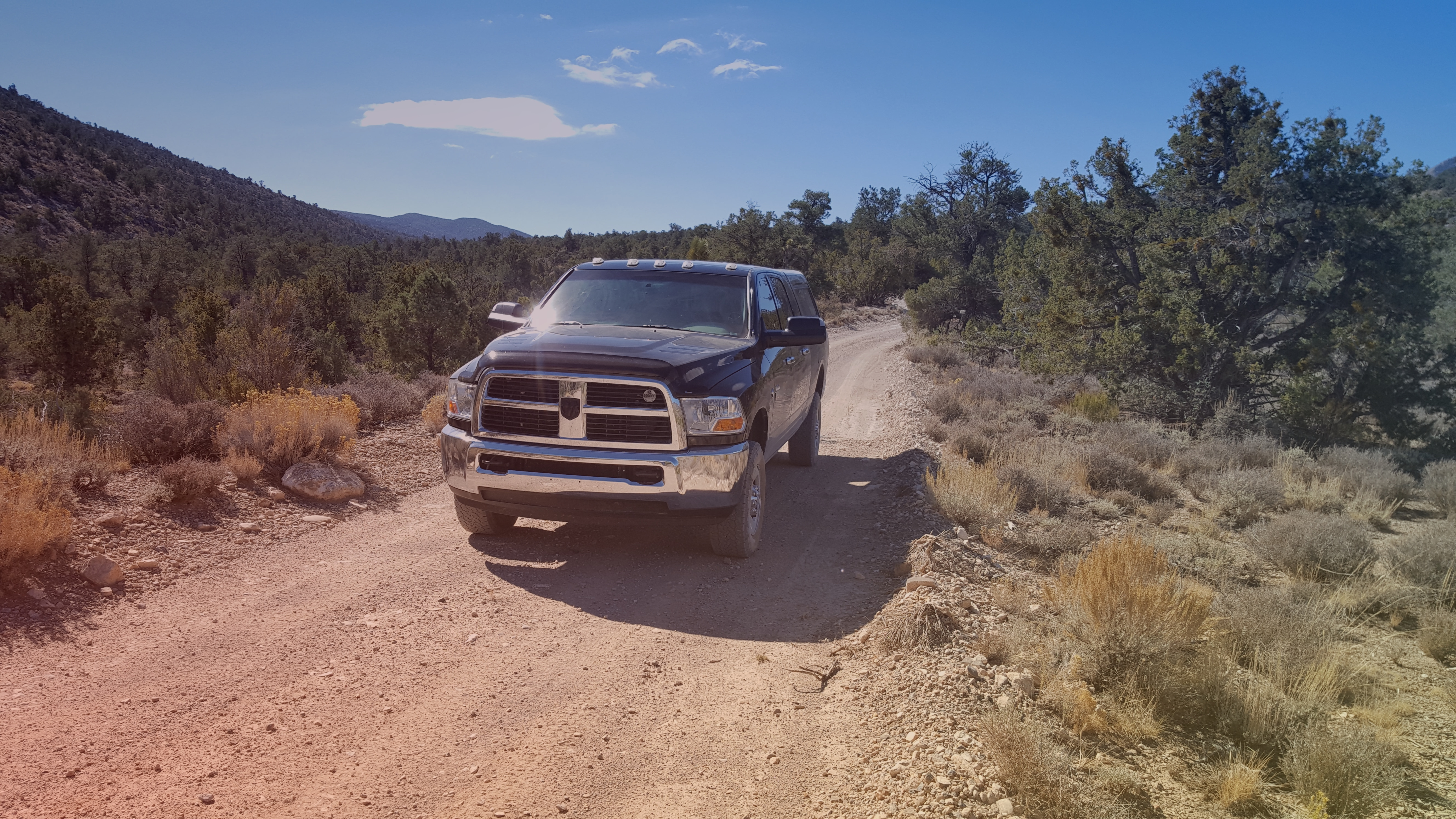 Offroad travels in a 2010 Dodge Ram 2500 with the 6.7L Cummins.  Truck is equiped with AMSOIL lubricants througout.