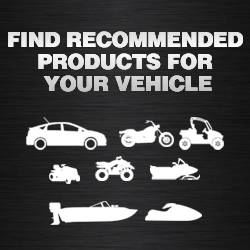 Find Recommended Products for Your Vehicle