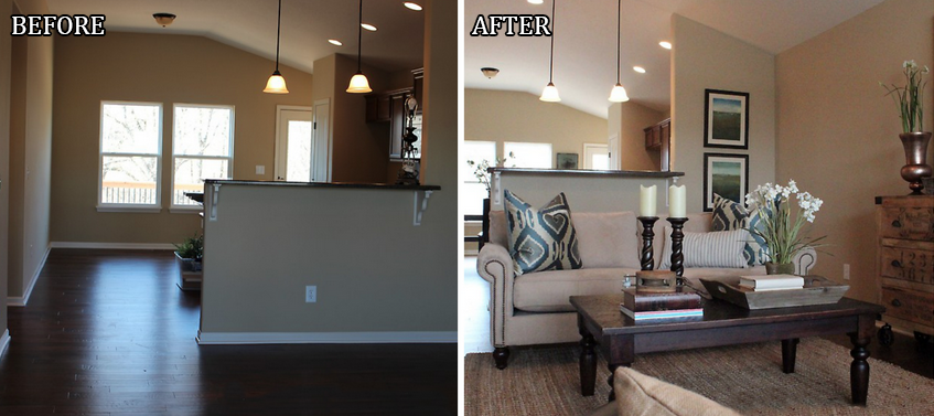 Model home staging ideas and pictures