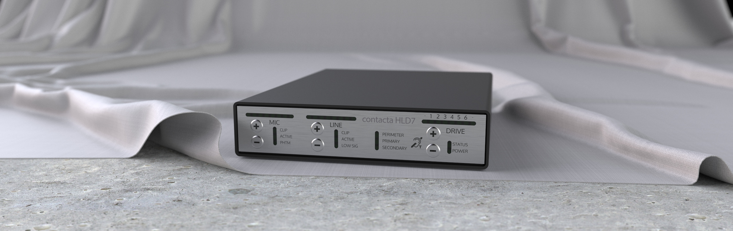 Contacta's powerful HLD7 hearing loop driver