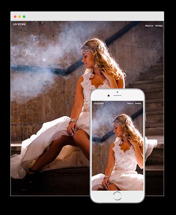 photographer website